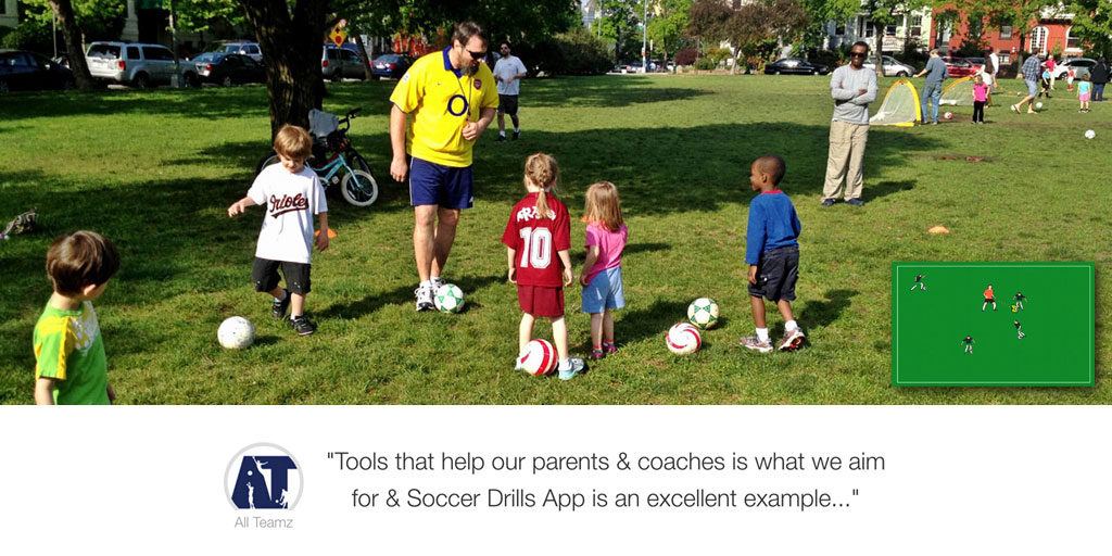 soccer drills app